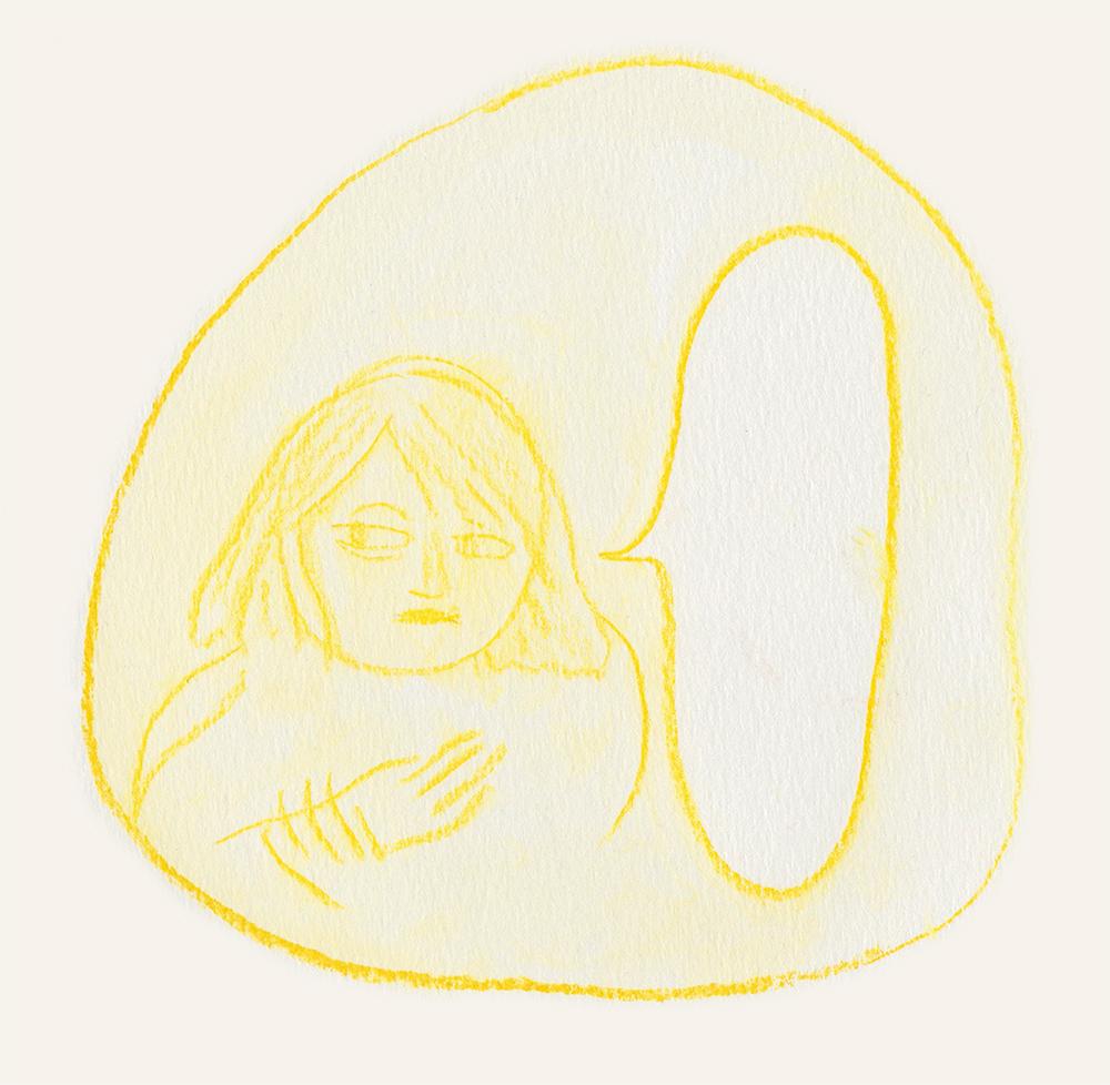 dessin personnage jaune